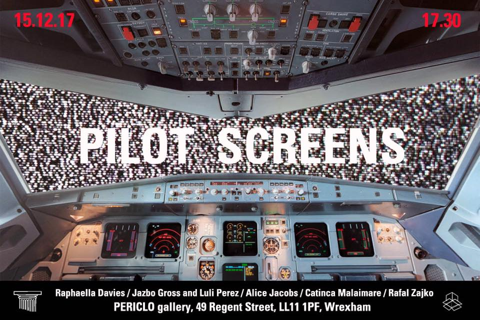 Poster for Pilot Screens, PERICLO, Wrexham, Dec 2017