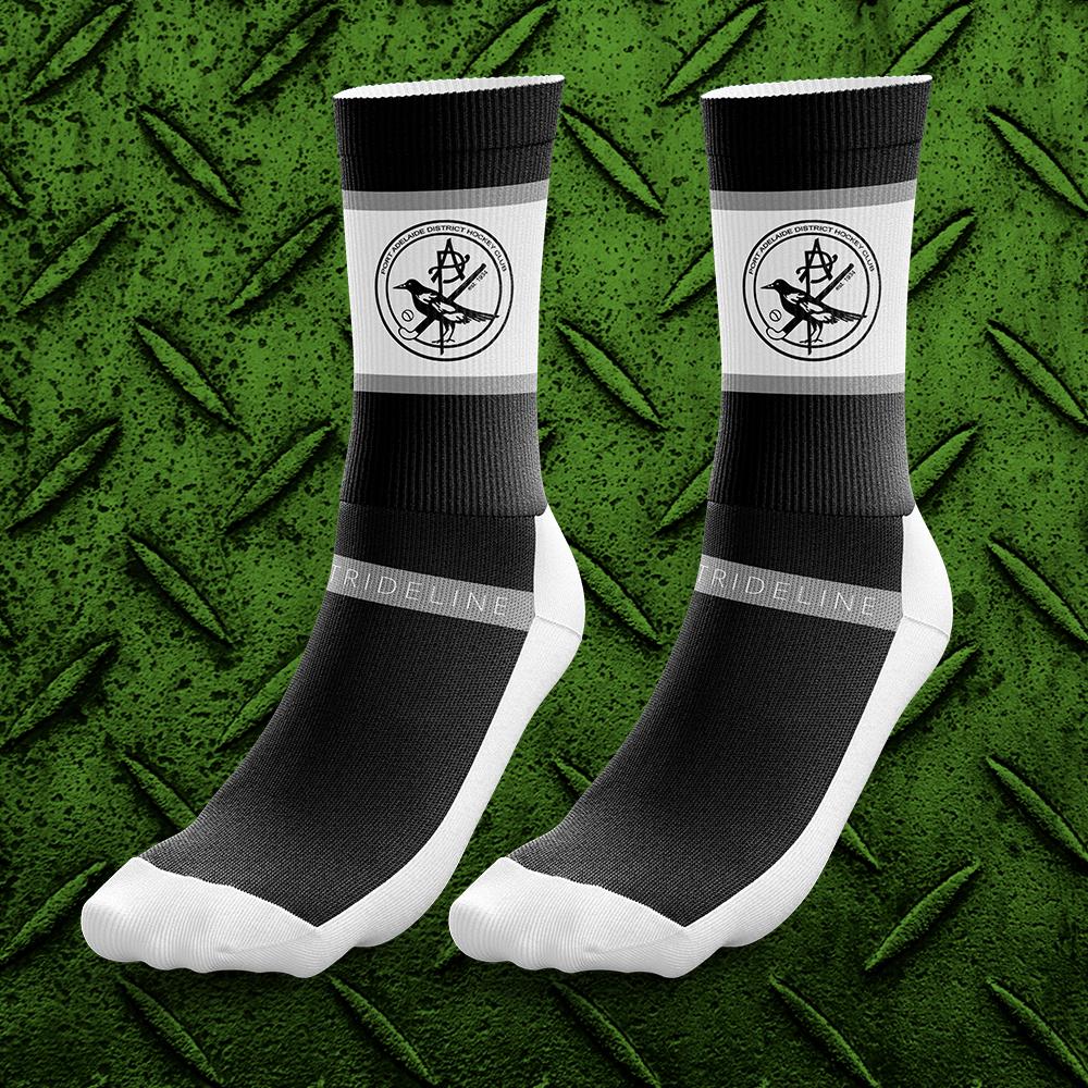 Blk Training Socks $20incGST per pair