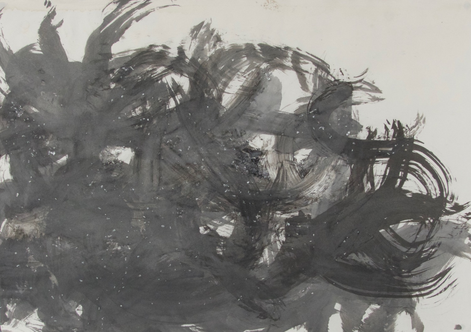 Entwine   Japapanese Sumi ink on Paper, 2005
