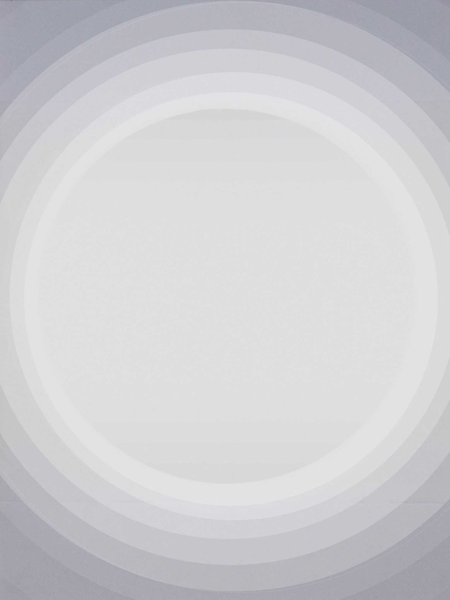 Light vortex transition,  Tissue on high gloss black card with digital layers, digital image, 2016