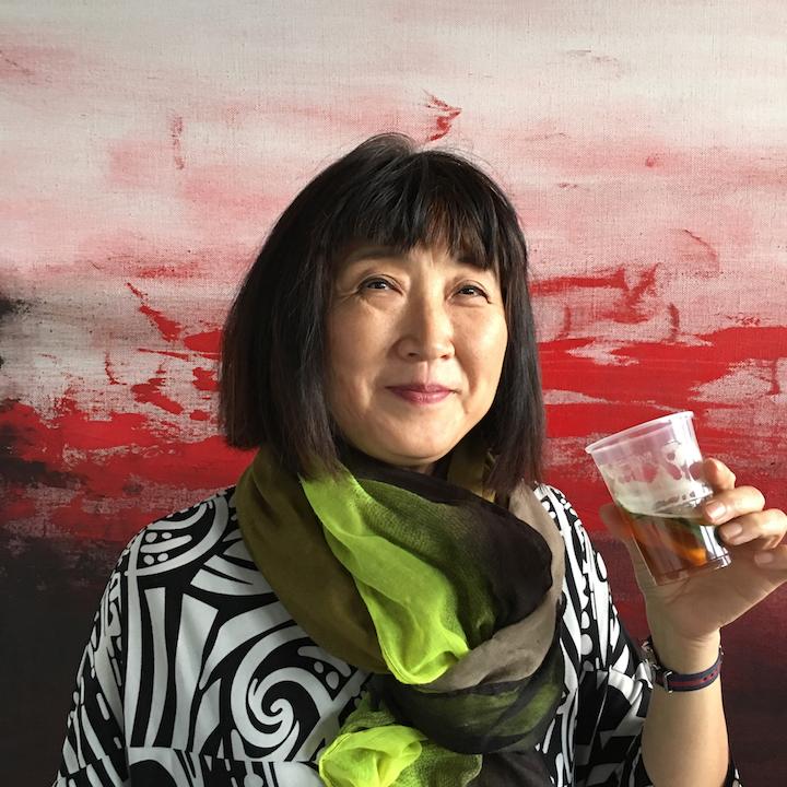 Atsuko Barouh - Incarnadine  Studio 46, 25.06.16, digital image