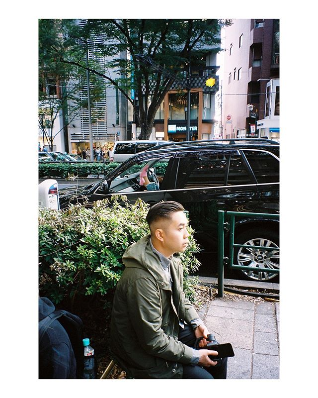 In Omotesando from last year. . . #filmphotography #streetphotography #pentaxespio120sw #potra400 #tokyo #japan