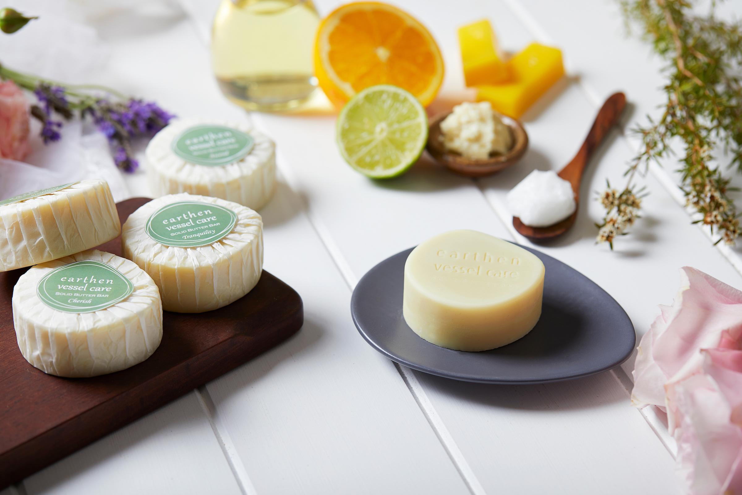 Earthen Vessel Care elegant range of Solid Butter Bars