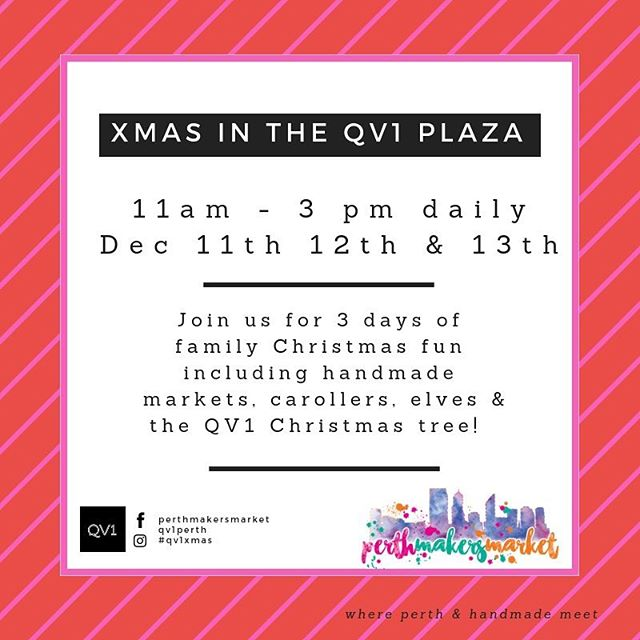 Interested in local and handmade? Join us @perthmakersmarket this December #perthisok #perthcity #perthmarkets #perthnow #perthshopping #supportlocal #giftideas #christmasgift #perthmakersmarket #naturalskincare #handmade