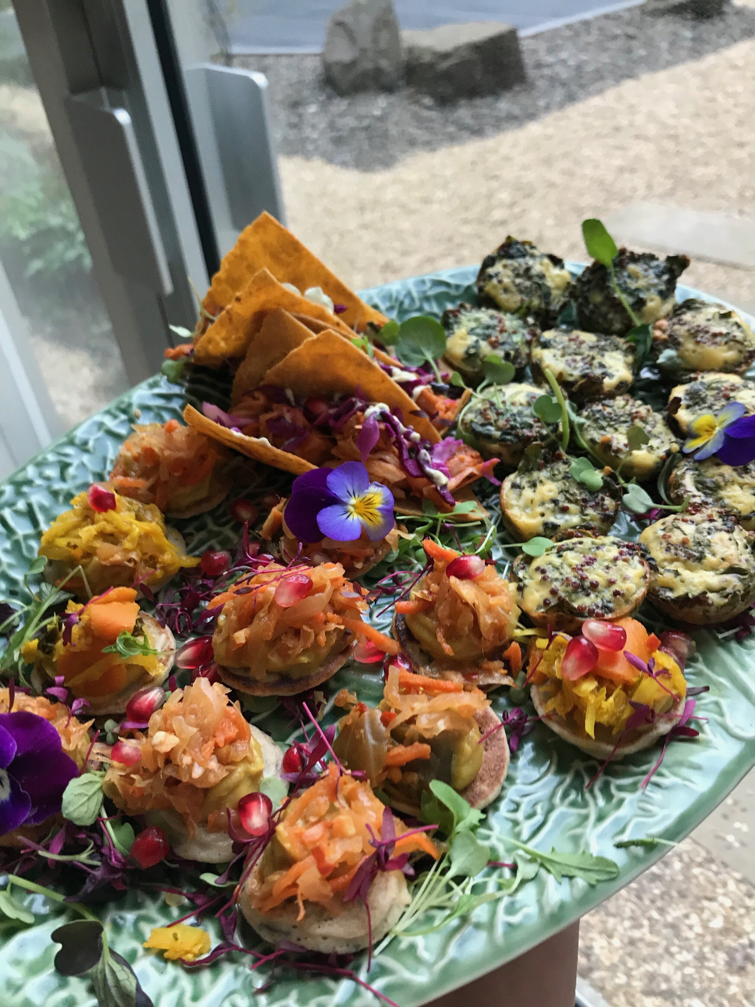 Fodmap canapé event - The Gut Stuff - Fodmap friendly canapés created for a Gut friendly event in Manchester for 100 people