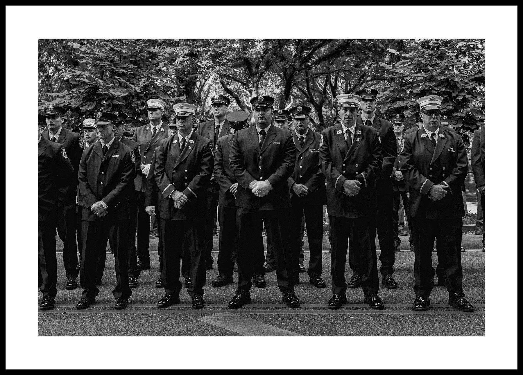 FIREFIGHTERS ON THE LINE Exhibition - Some Info here: