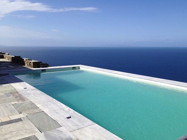 Pools with views