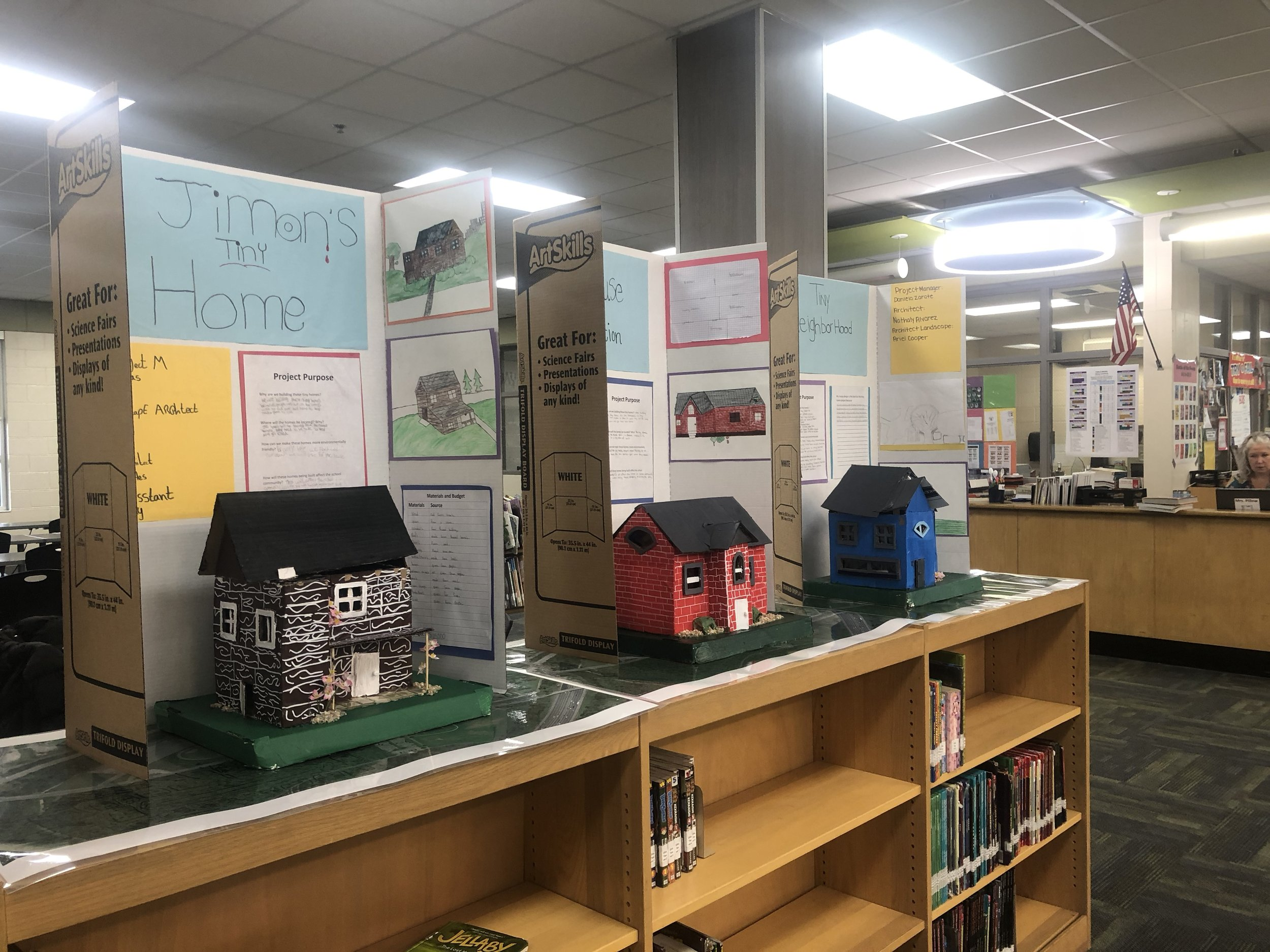 """""""I really enjoyed the building part. The process of just constructing stuff. Using your own creativity that could be created to help someone."""" - Student from Oliver Middle"""