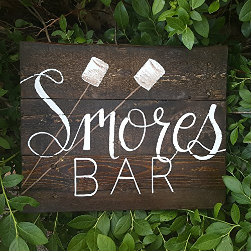 "Smores Bar Sign   Dimensions: 11"" x 13""  Price: $8.00"