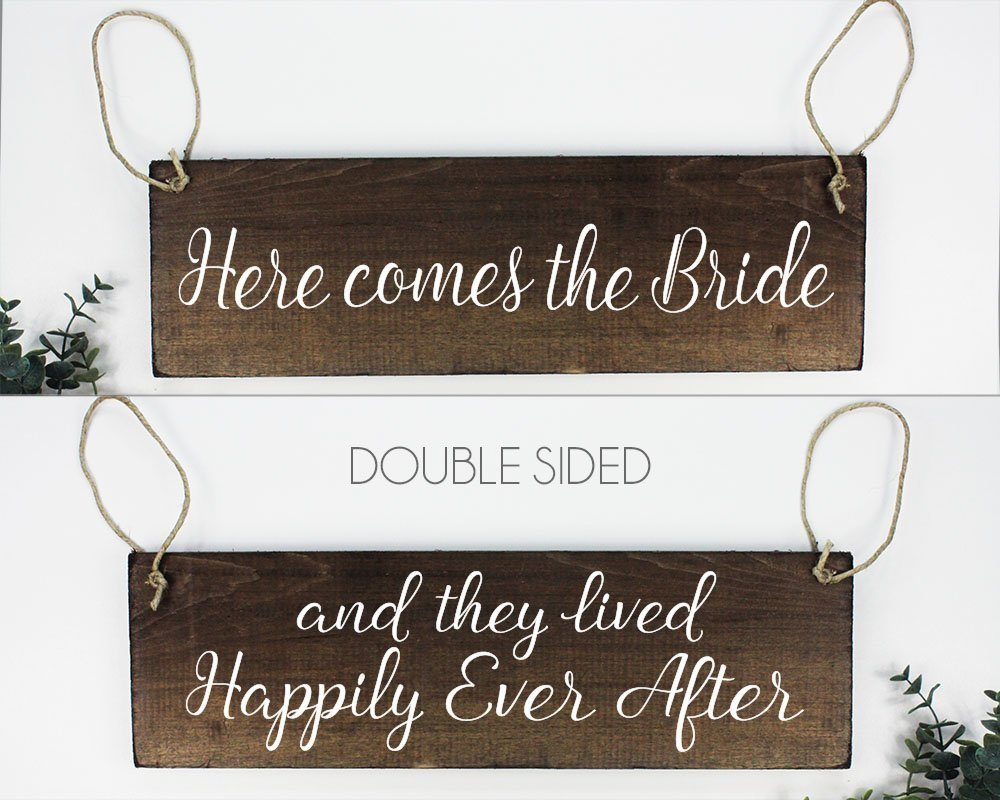 "Double sided ring bearer Sign   size- ""  Price: $10.00  Inquire about quantity and availability."