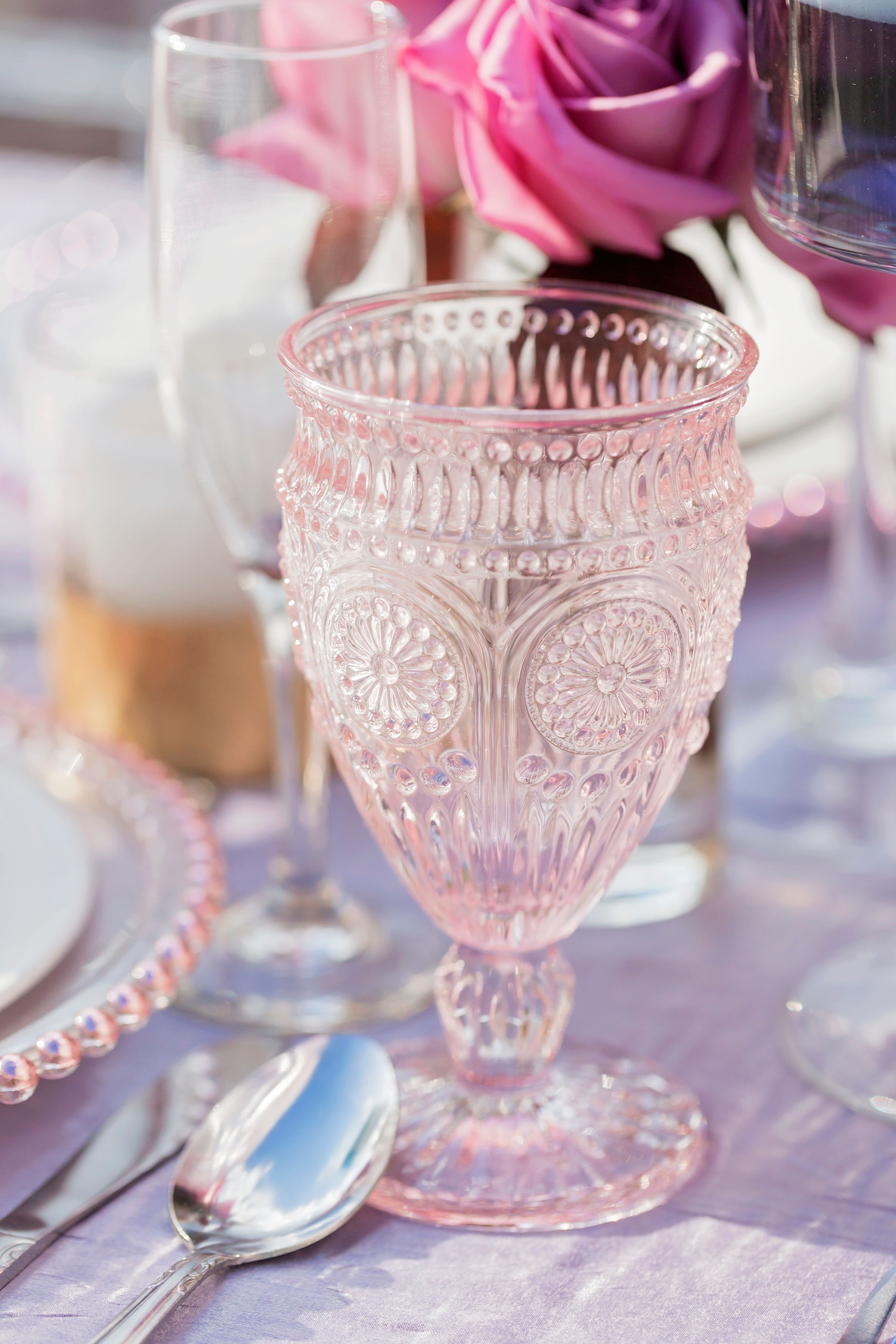 Blush Goblet   Price: $1.75  Quantity Available: 160
