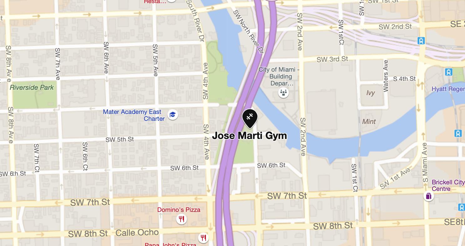 Encuéntrenos en el segundo piso del gimnasio Jose Marti Park el 15 de marzo, de 4pm a 6pm