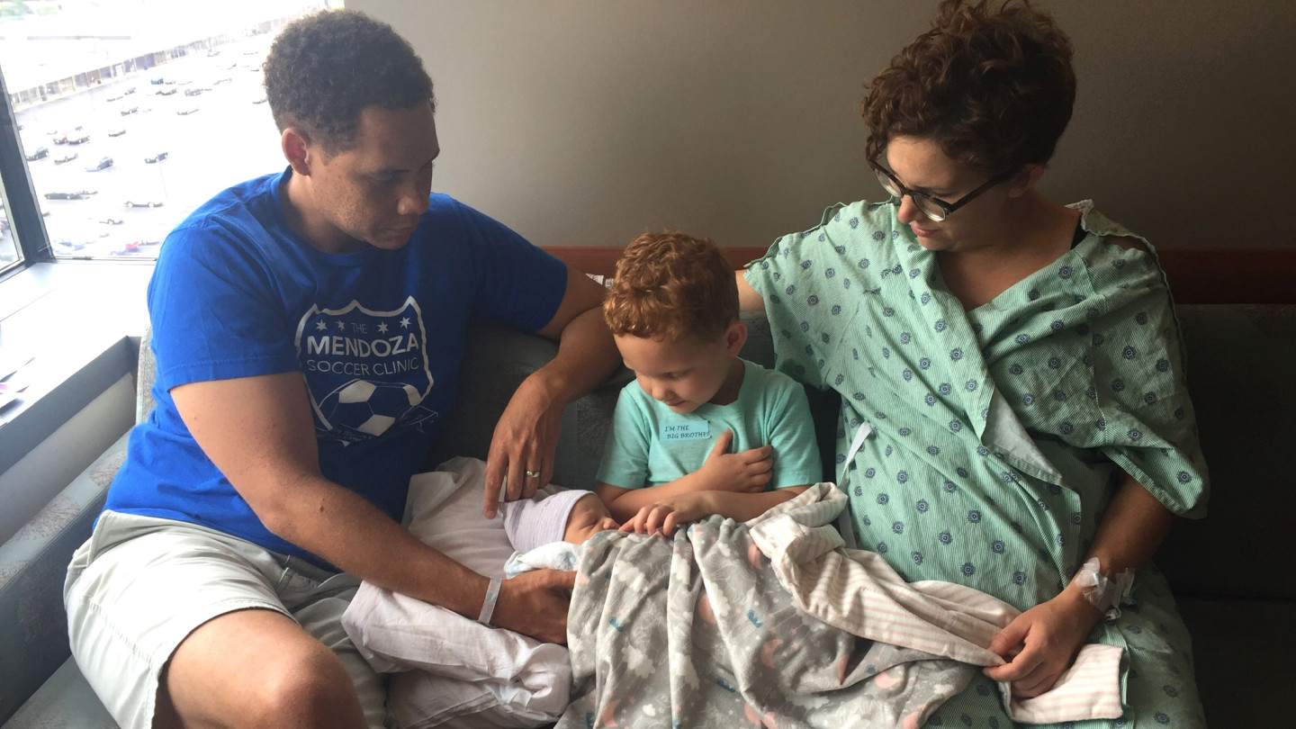 Matt lives in Lincoln Square with his wife Katelyn, four-year-old son Isaac, and newborn daughter Ameena