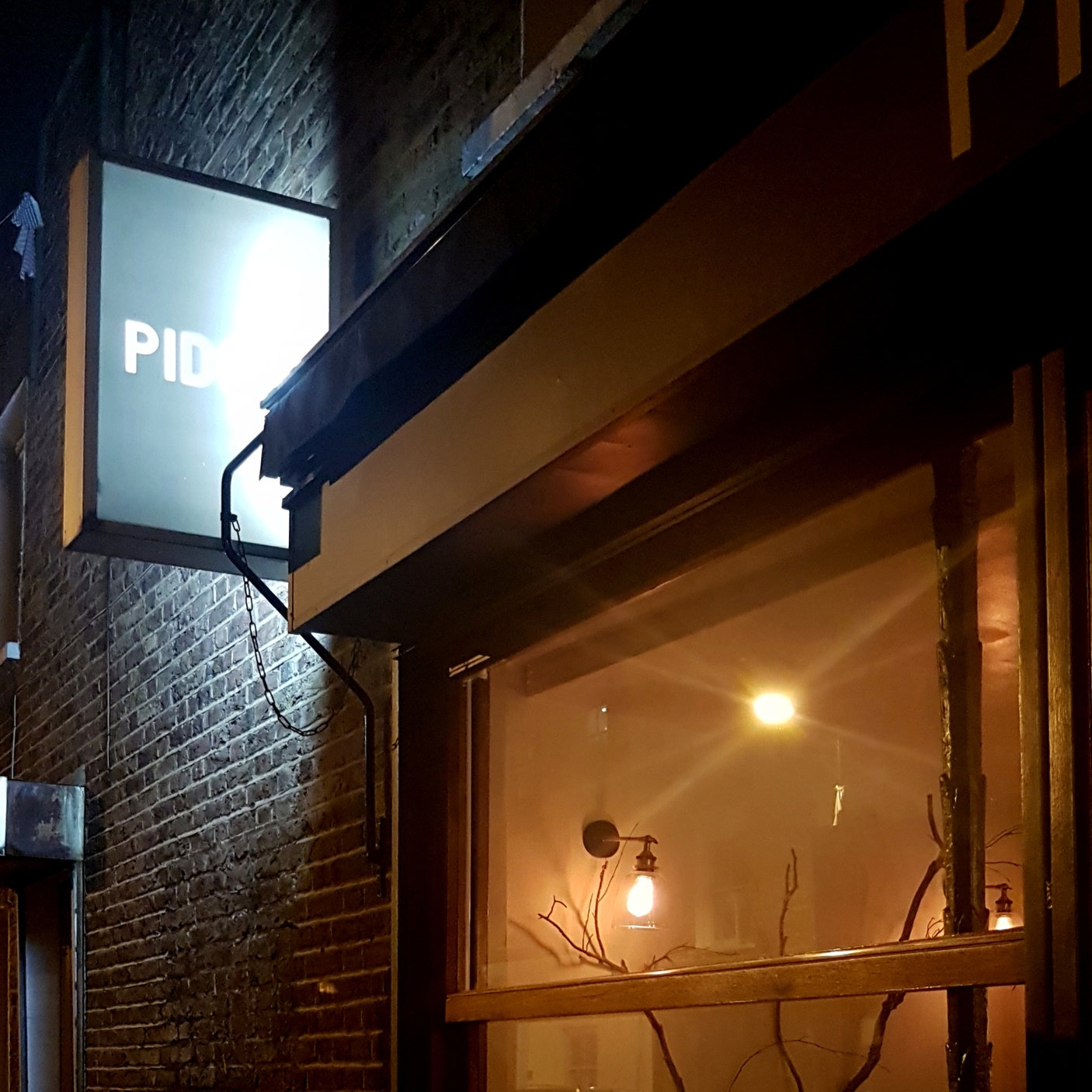 One of my new foodie favourites this year -    Pidgin    in Hackney