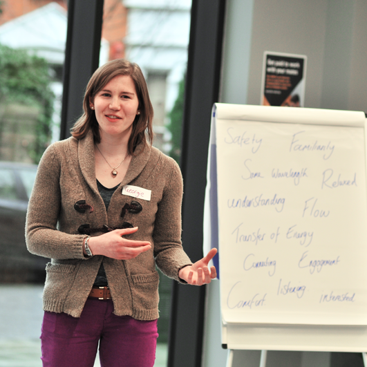 """WORKSHOPS    Trigger Conversations offers a variety of trainings, from """"How to Have a Conversation"""", to our flagship """"Transformational Conversations"""" programme.  Creating a supportive and fun environment that encourages growth and integration so that you can see immediate benefits in your daily conversations and the opportunities they create."""