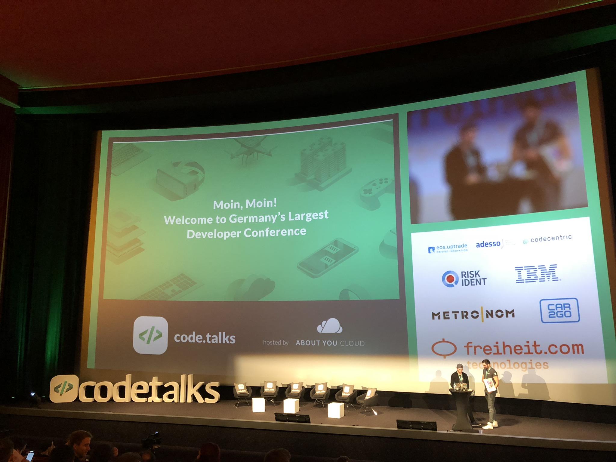 Begrüßung code.talks2018