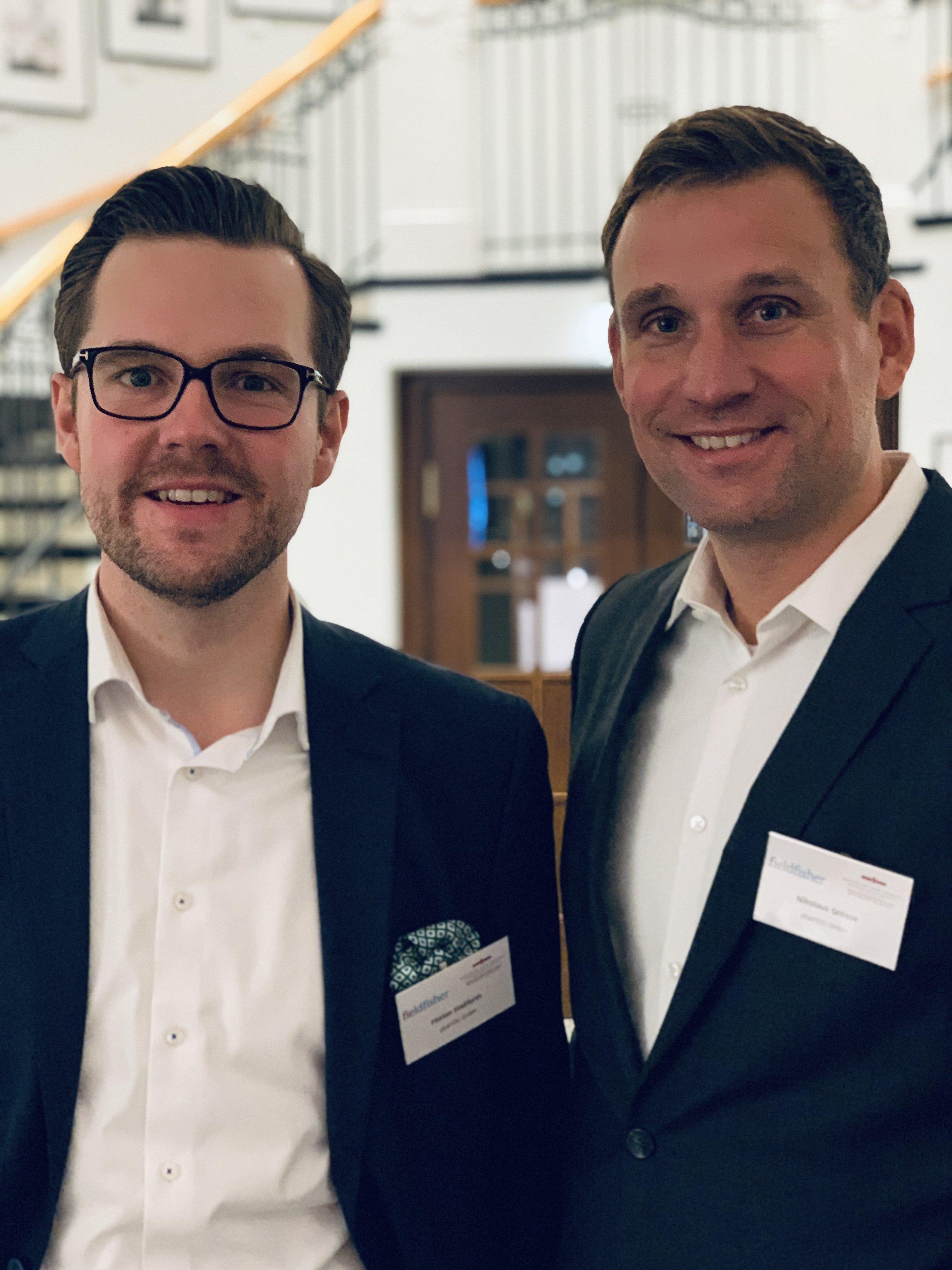 Florian Stassfurth und Nikolaus Grosse/ plusYOU