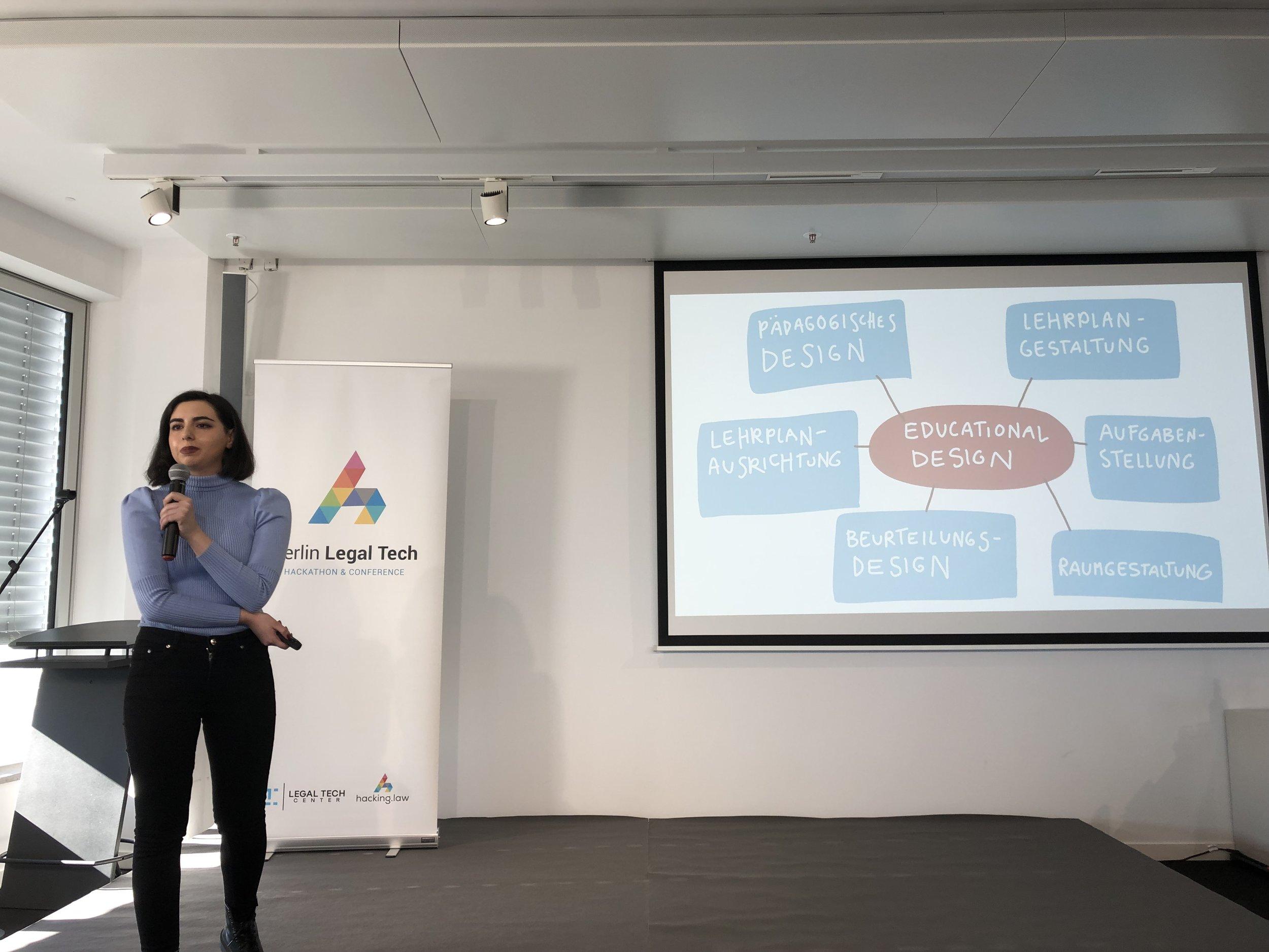 Dalia Monat @ Berlin Legal Tech 2019