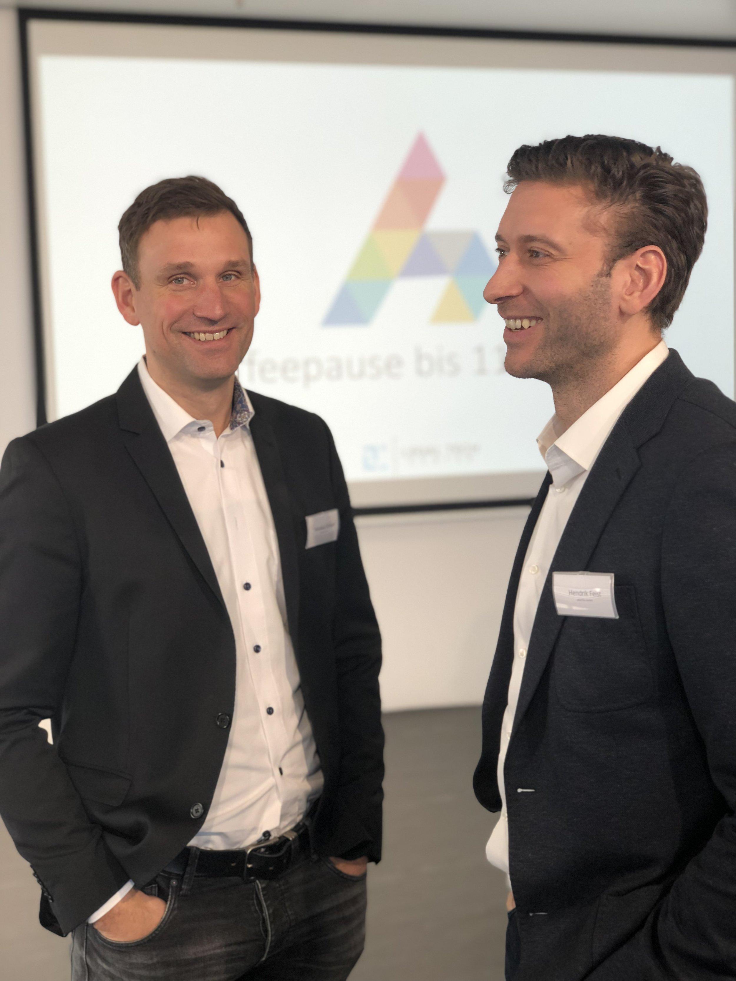 Nikolaus Grosse + Hendrik Feist, Geschäftsführer der plusYOU GmbH