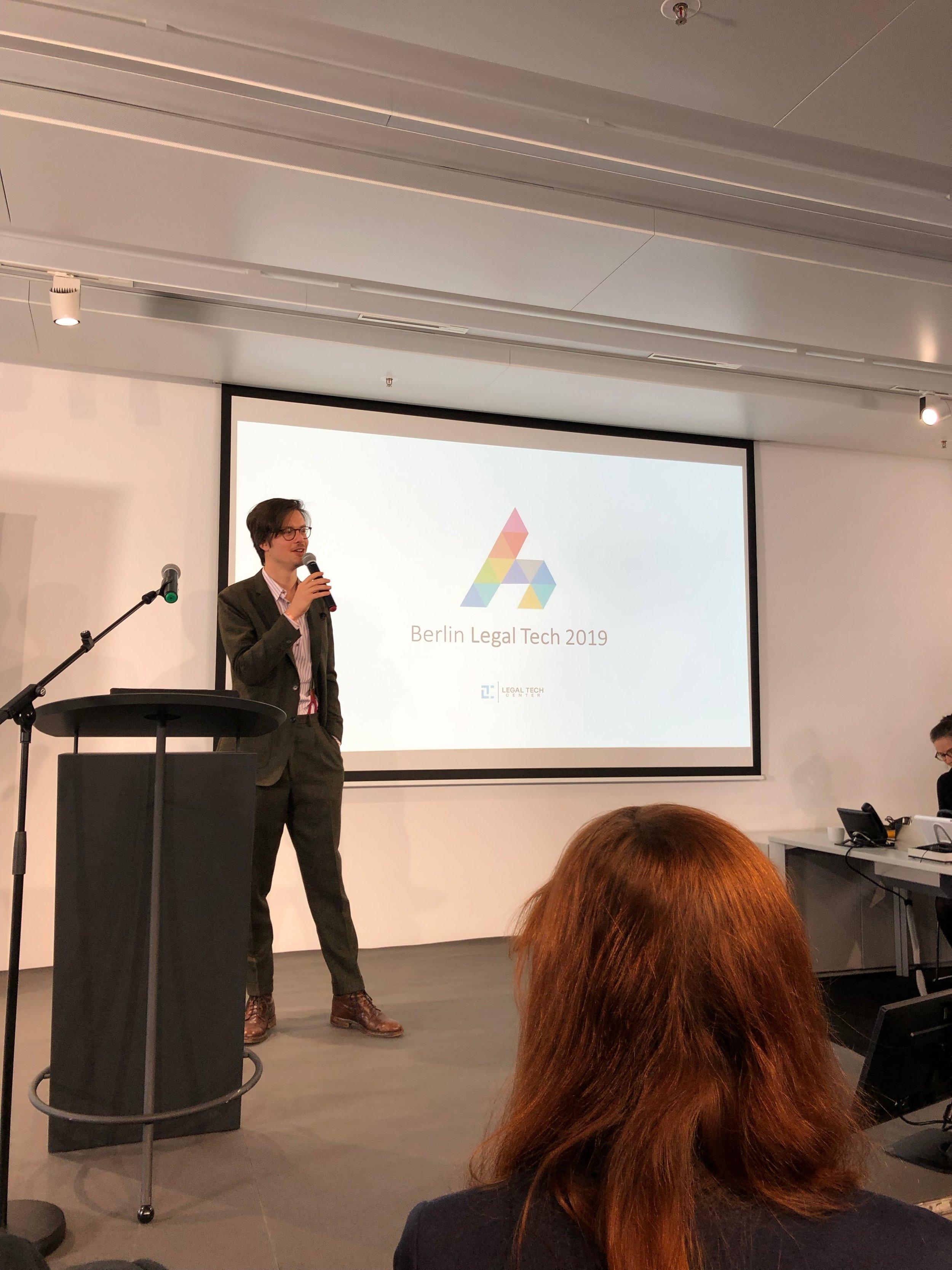 Florian Glatz @ Berlin Legal Tech