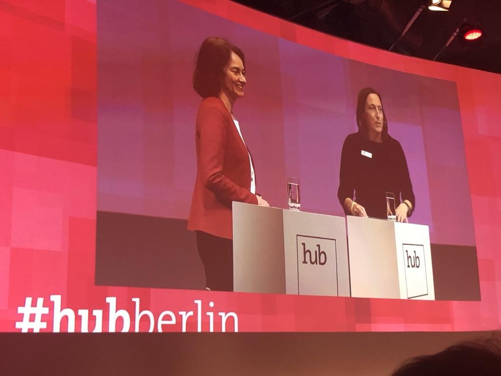 Katharina Barley - Digitalisierung hub.berlin