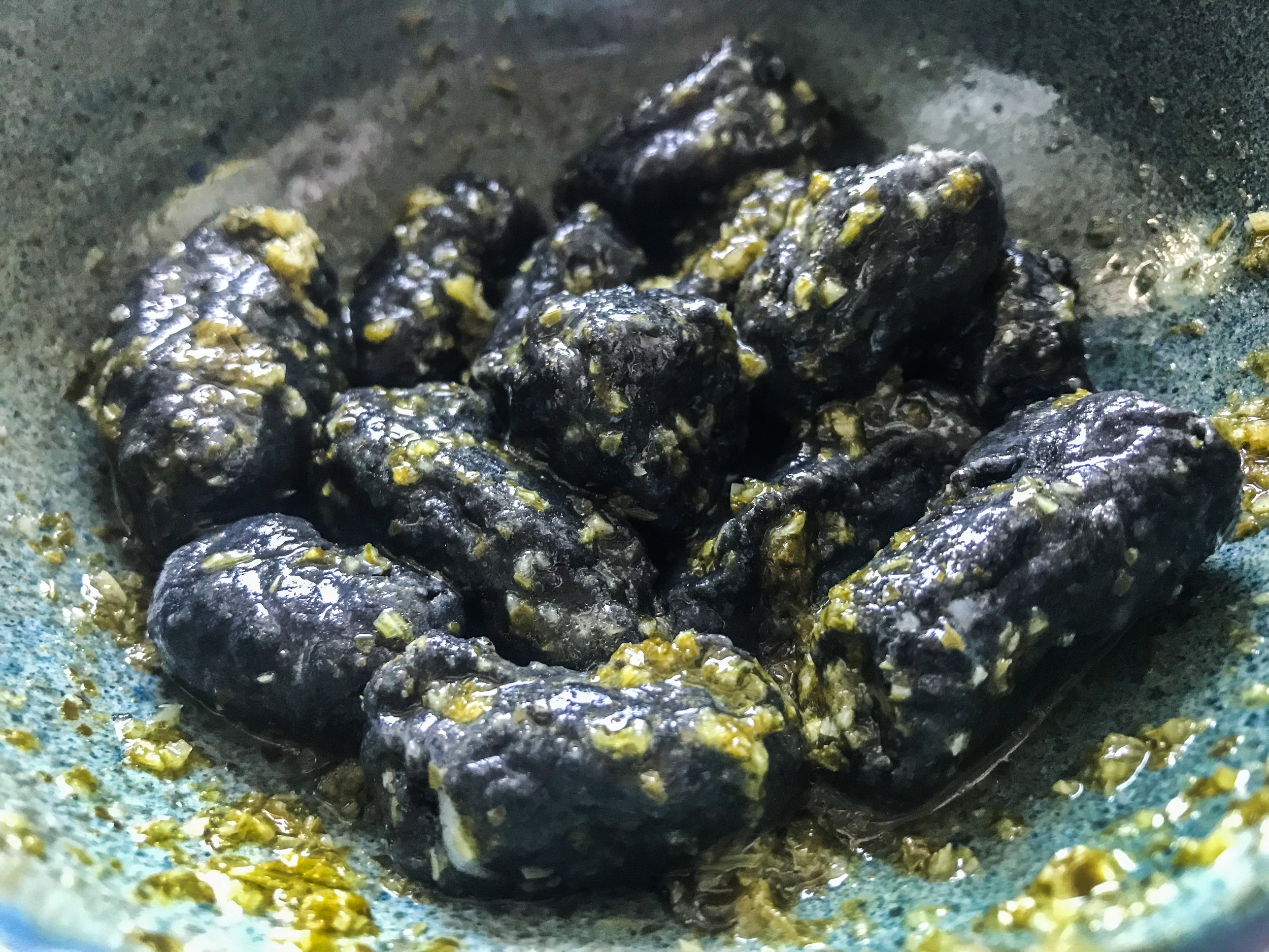 SQUID INK GNOCCHI - #SIAintheKitchen