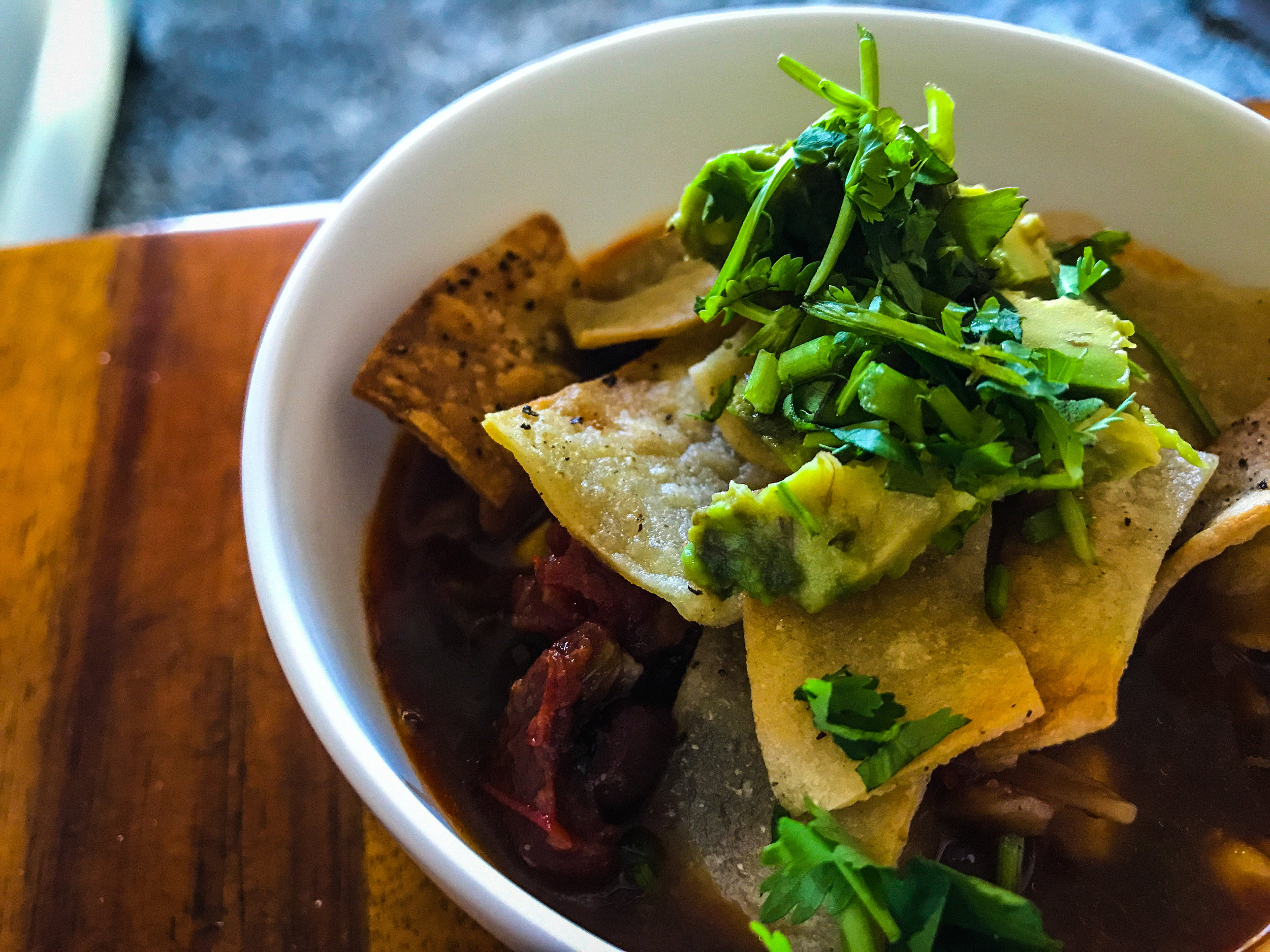 TORTILLA SOUP - #SIAintheKitchen