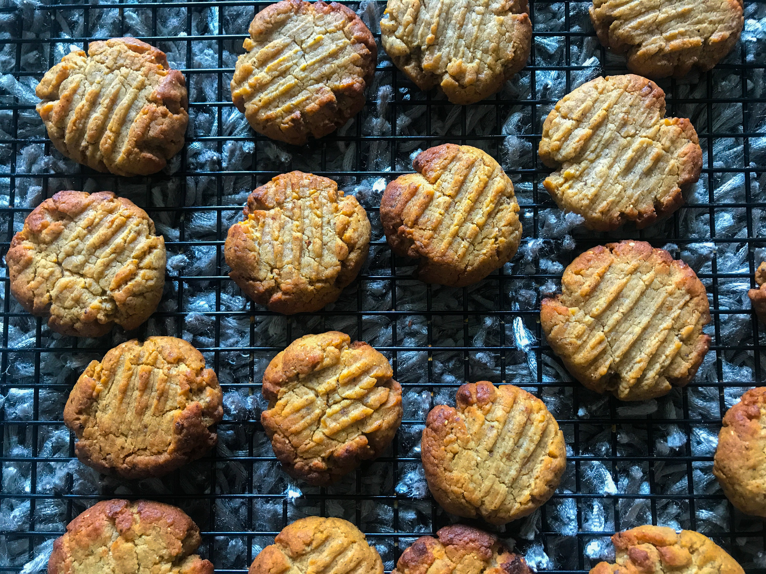 MISO ALMOND BUTTER COOKIES - #SIAintheKitchen