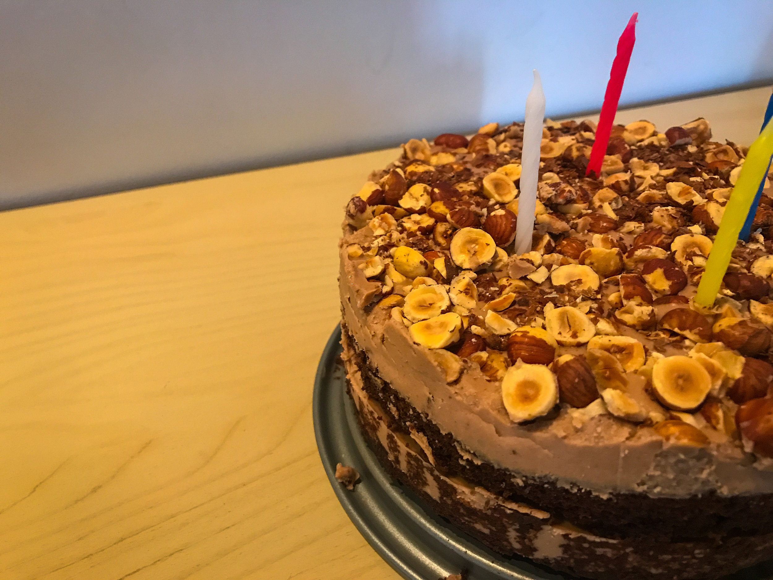 CHOCOLATE HAZELNUT CAKE - #SIAintheKitchen
