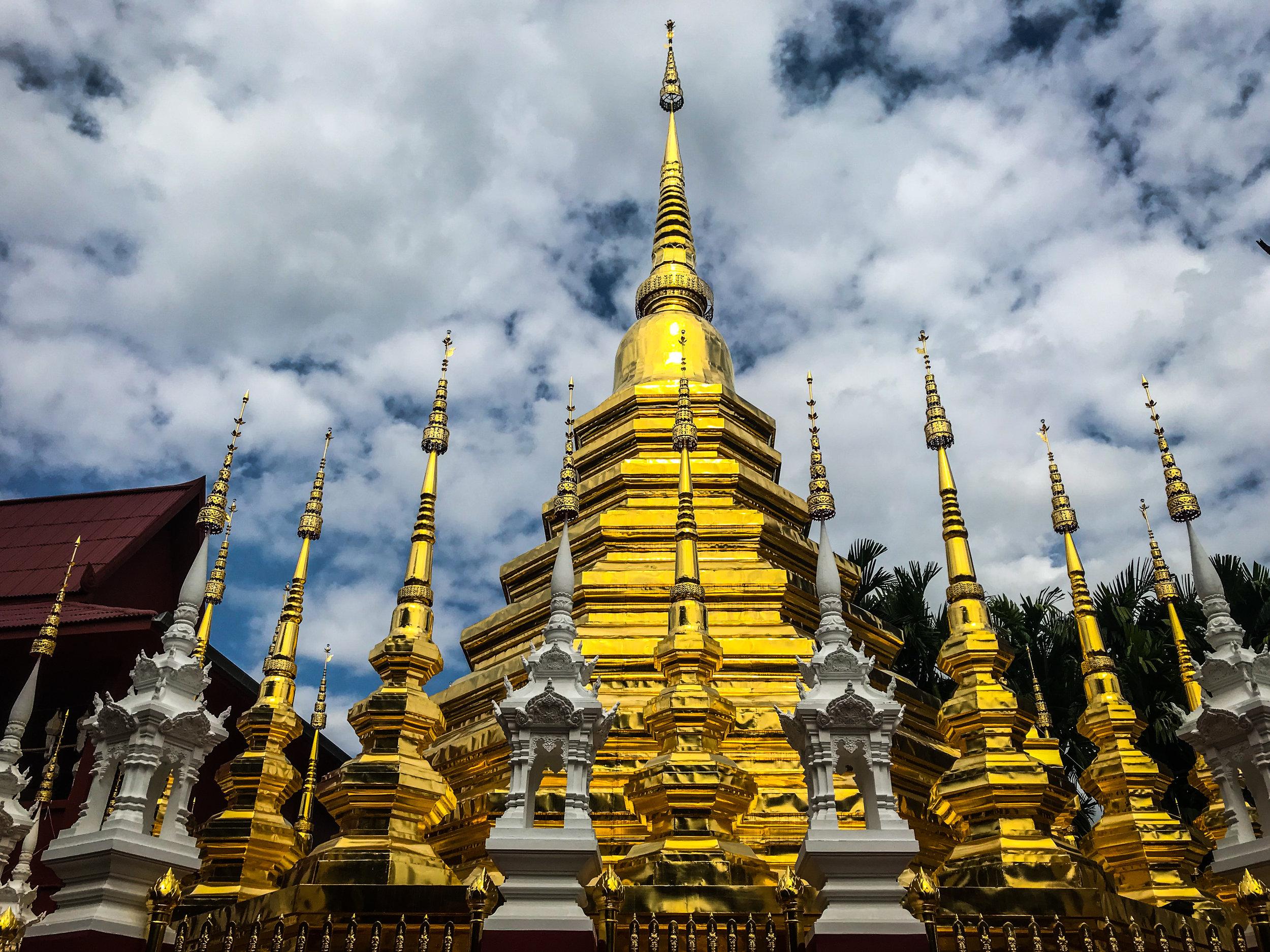 Pagoda - Chiang Mai