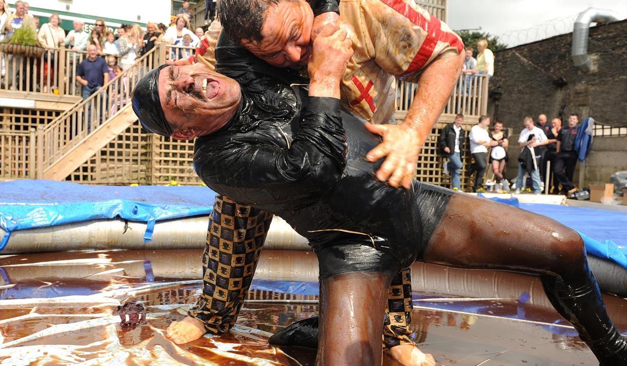 Annual World Gravy Wrestling Championships Rossendale - 26th August 2019https://worldgravywrestling.com/