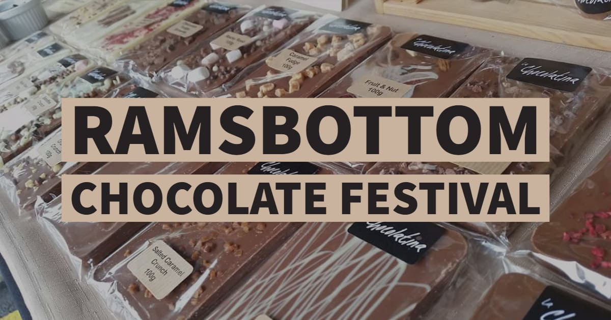 Ramsbottom Chocolate Festival - 6th - 7th April 2019http://www.ramsbottommarkets.co.uk/chocolatefestival18.html