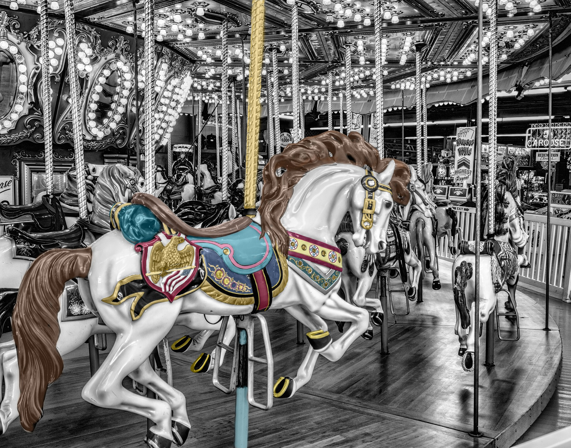 The Merry Go Round of Selling