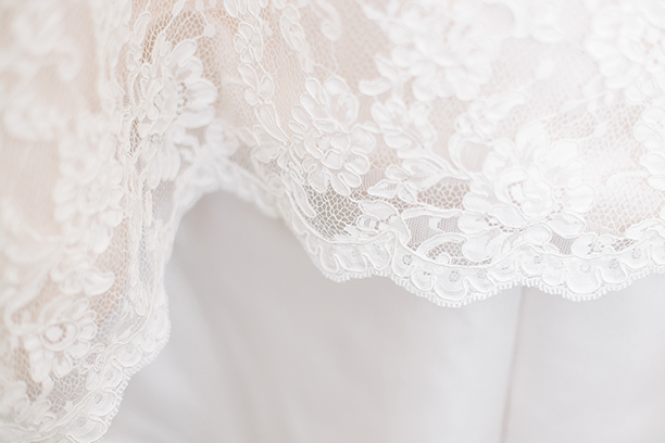Lace is a perfect example of a fabric that Dolfi is great at cleaning (Image sourced from  Unsplash )