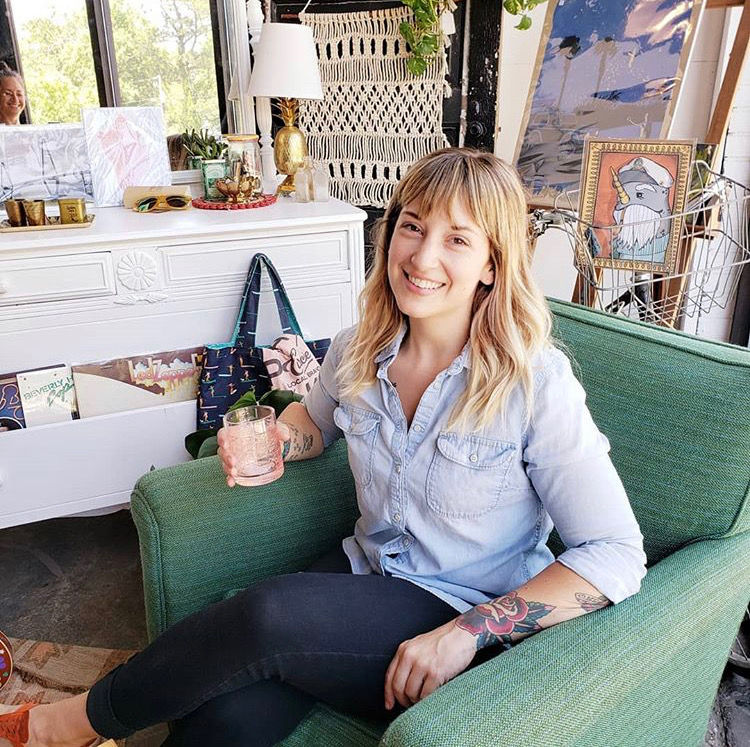 Amy Gangi - Owner, Plant Lover, People Tolerator