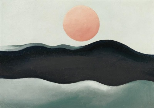 Copy of Georgia O' Keeffe - Sunset, Long Island