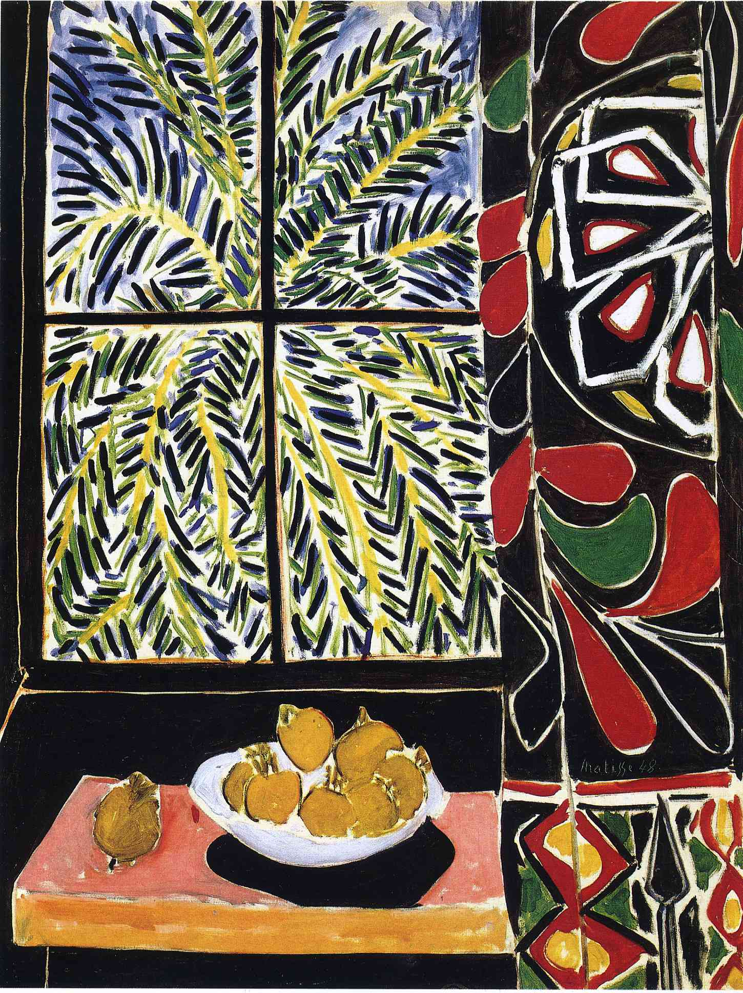 Henri Matisse - Interior with an Egyptian Curtain