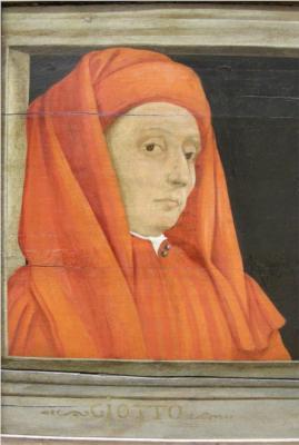 Giotto di Bondone (by Paulo Uccello)
