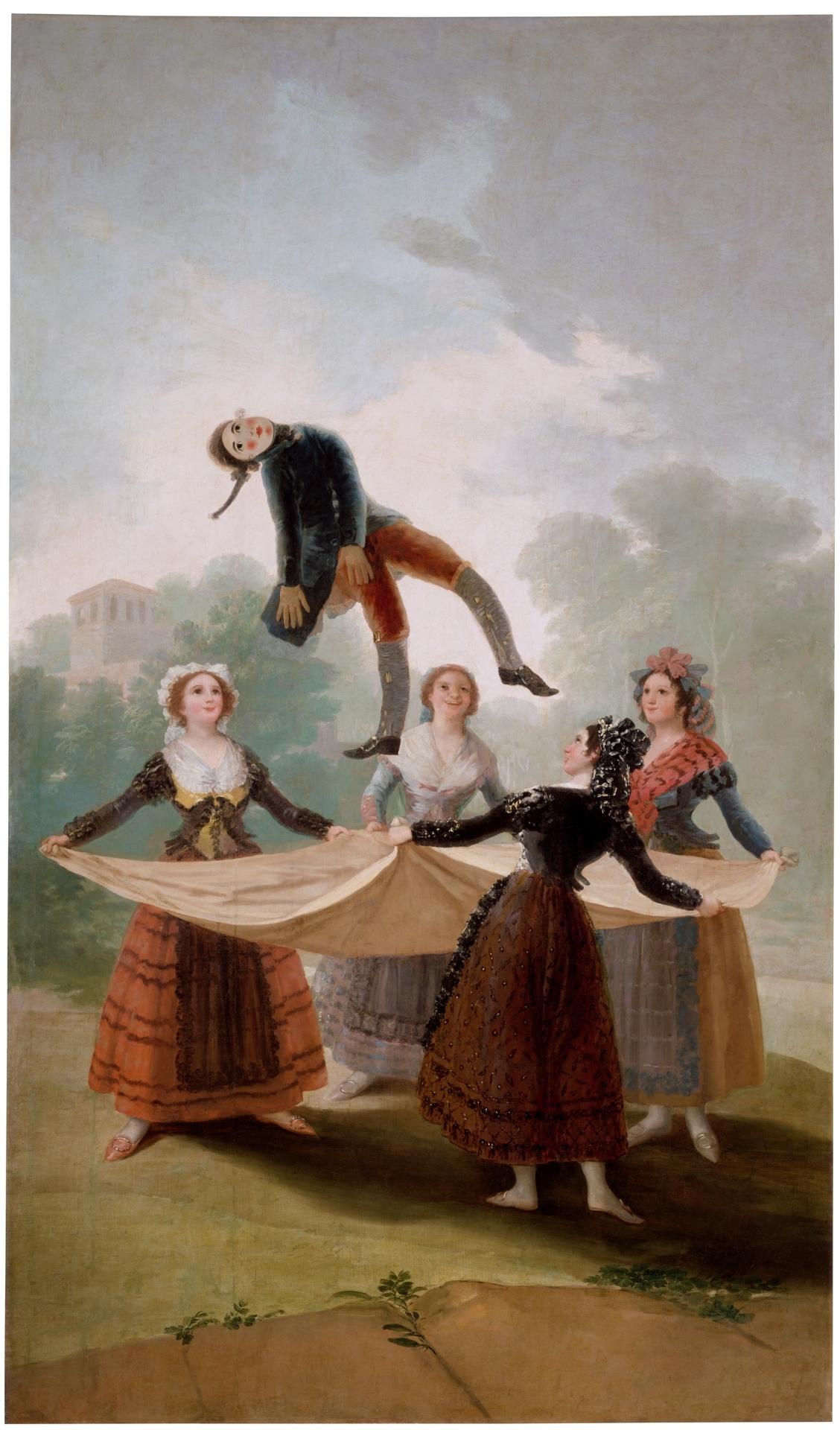 Franicisco Goya - The Straw Manikin