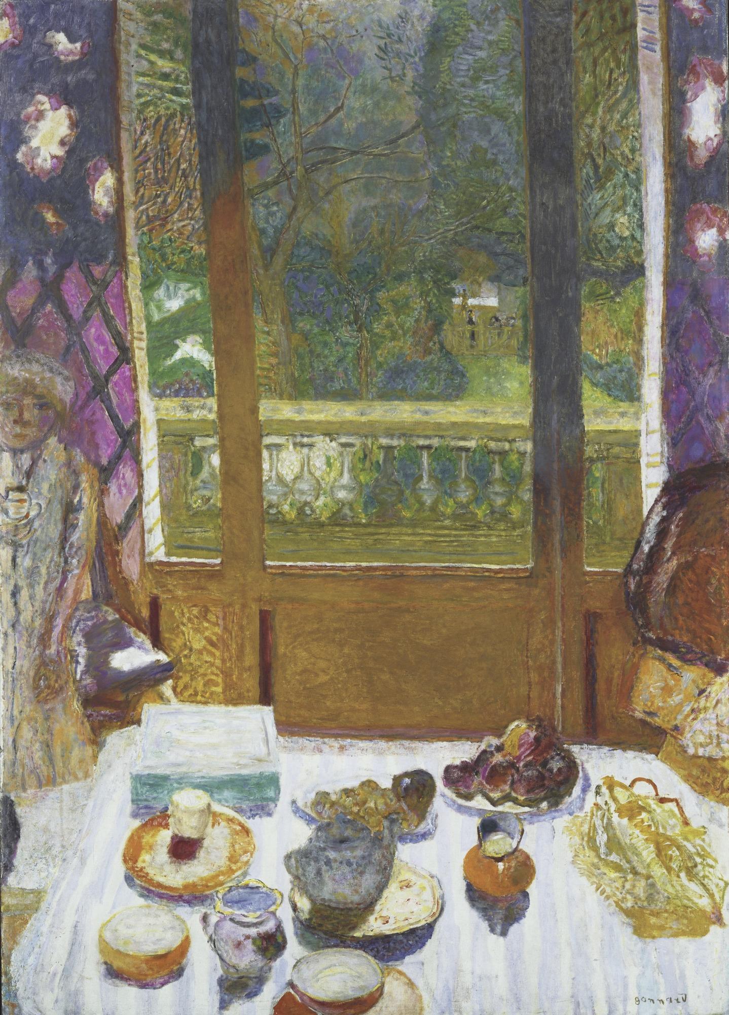 Pierre Bonnard - Dining Room Overlooking the Garden