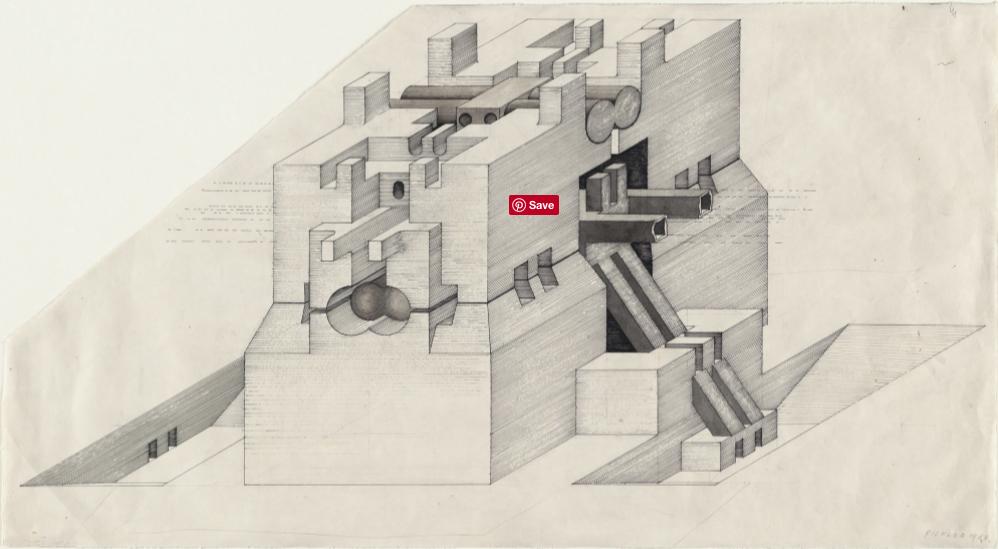 Walter Pichler - Underground Building