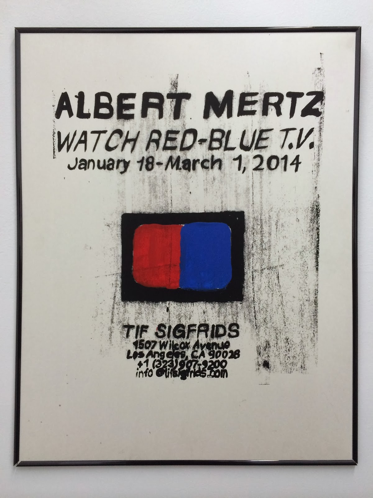 Albert Mertz - Watch Red-Blue T.V.