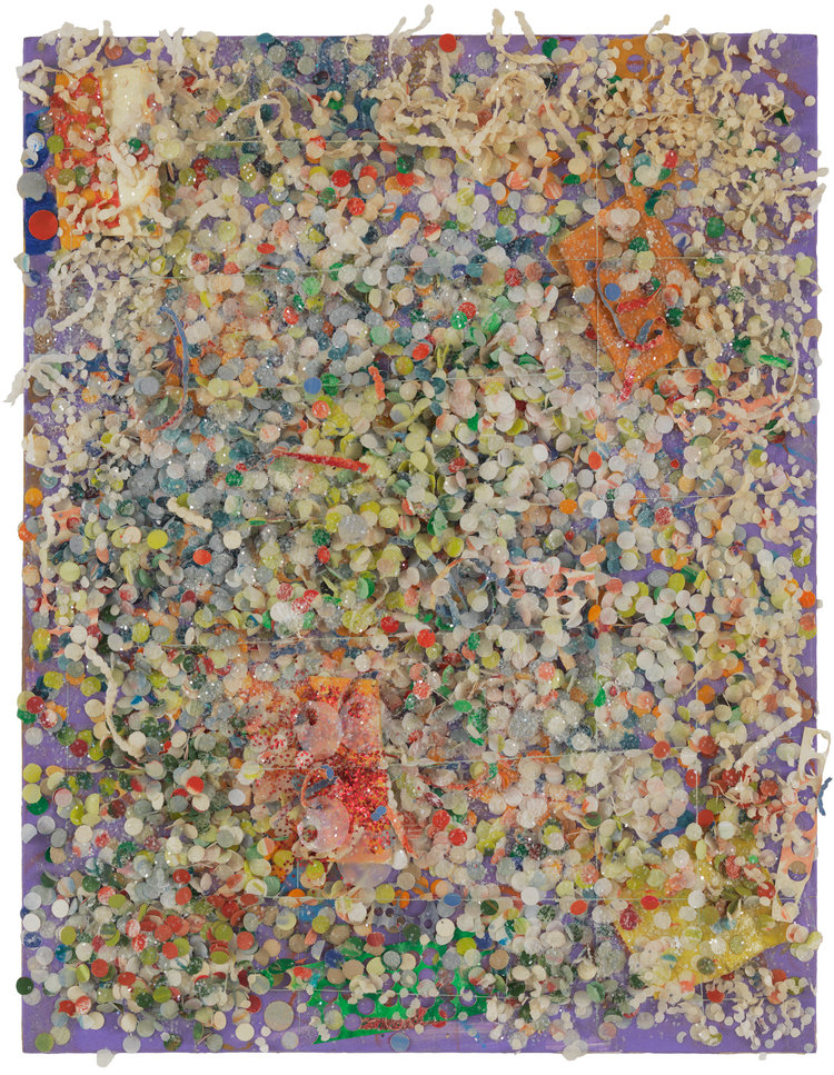 Howardena Pindell - Untitled #100