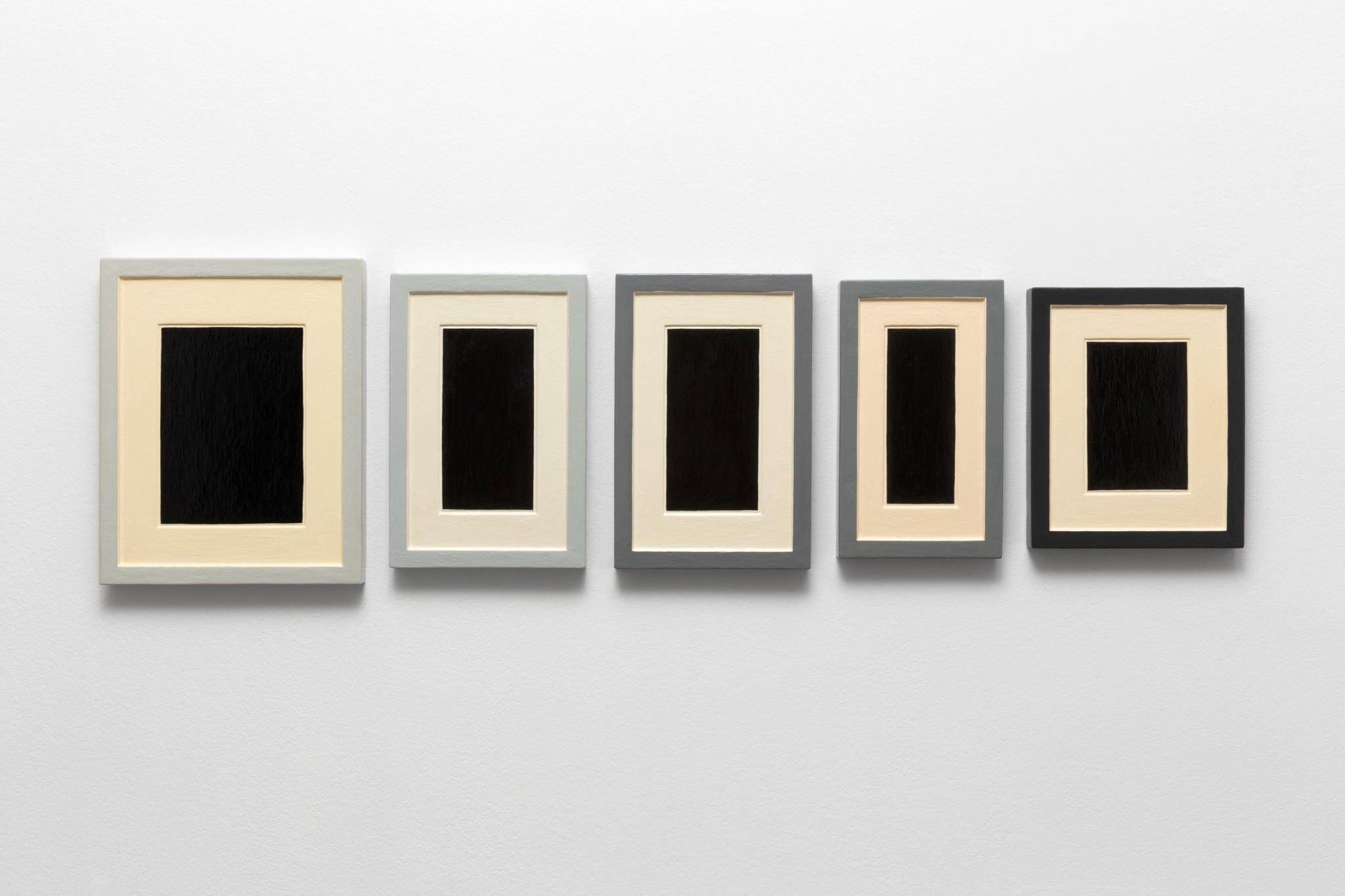 Allan McCollum - Collection of Five Plaster Surrogates