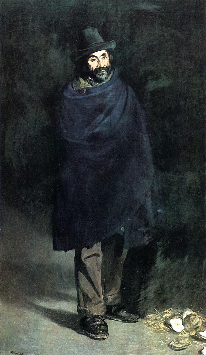 Edouard Manet - The Philosopher