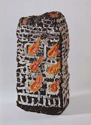Tim Rollins and K.O.S. - Untitled (Bricks)