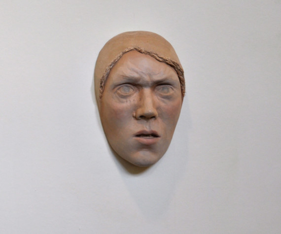 Beth Collar - Untitled (furrowed brow)