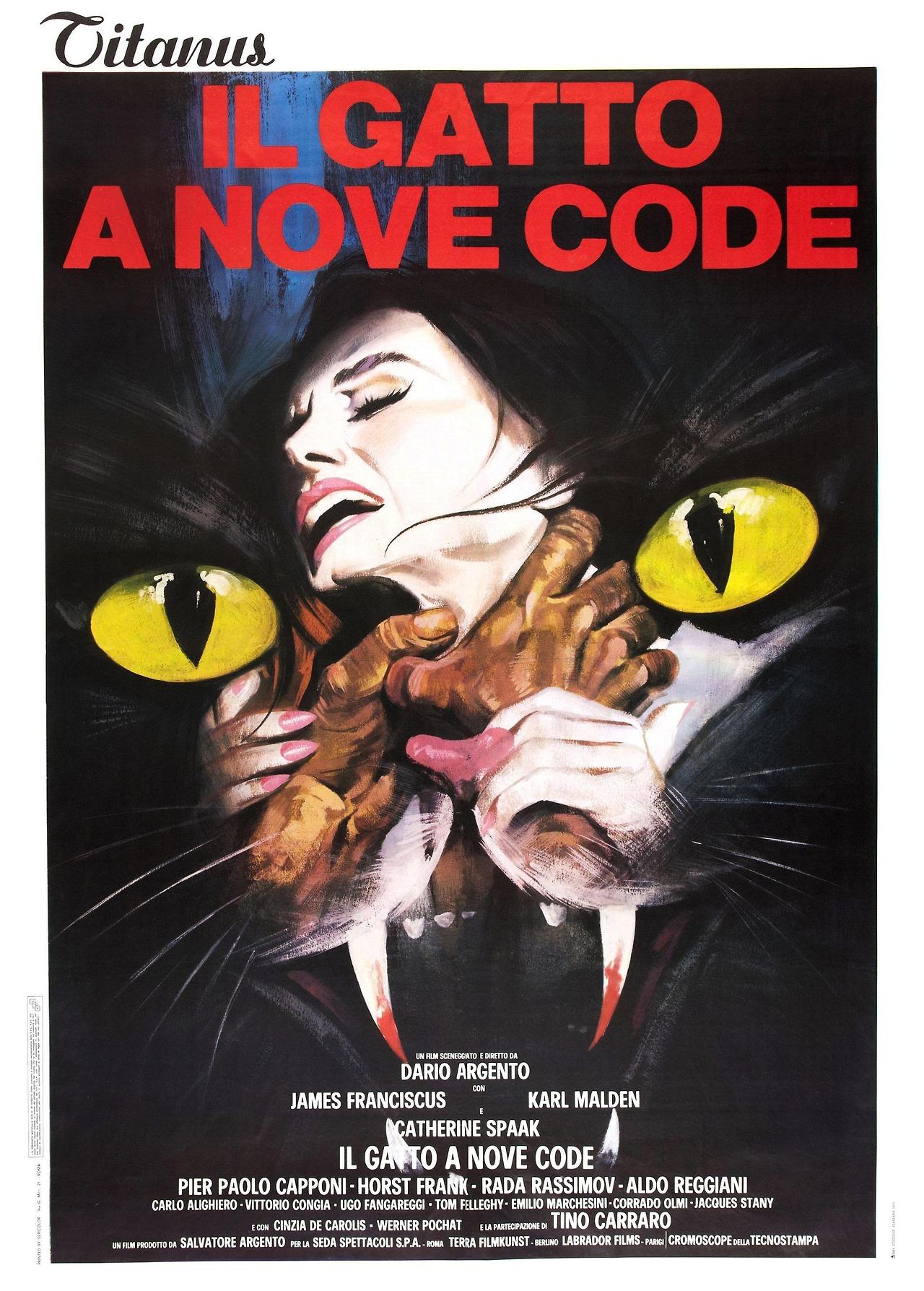 Dario Argento - The Cat o' Nine Tails