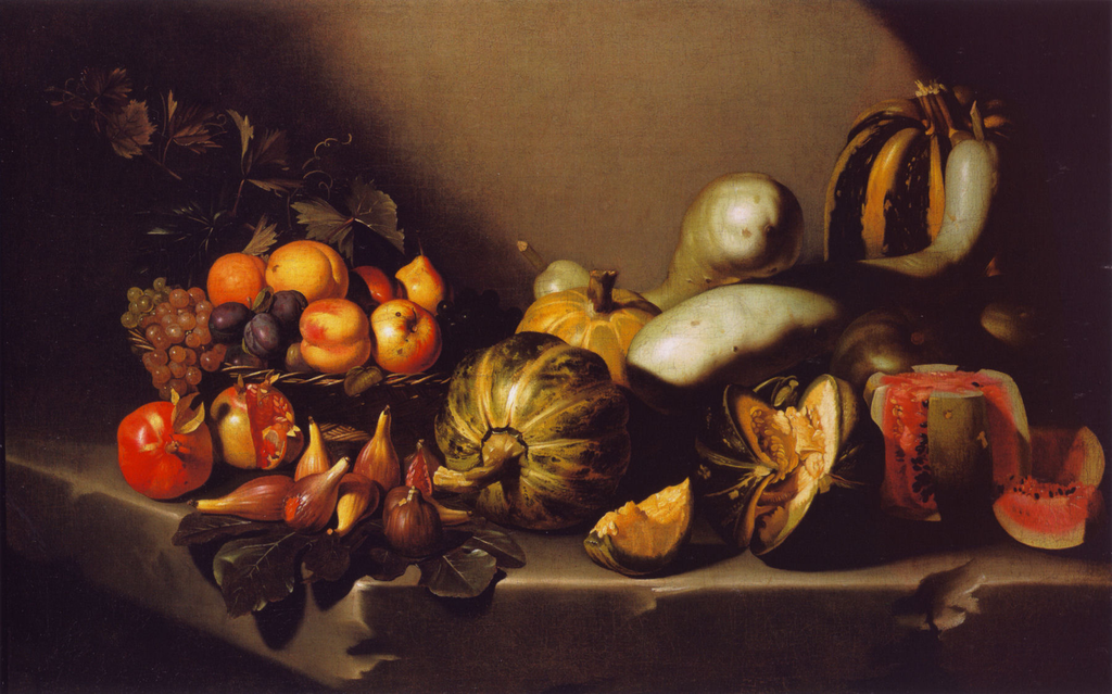 Caravaggio - Still Life with Fruit