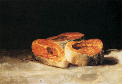 Francisco de Goya - Still Life with Slices of Salmon